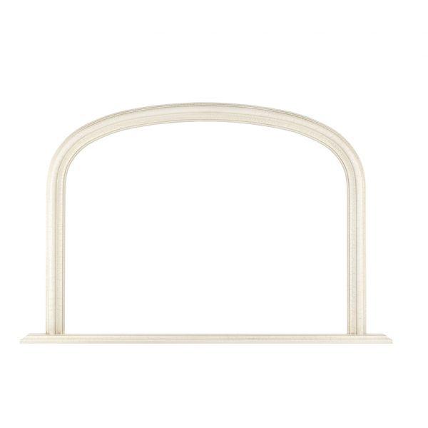 2.5in Ivory Ornate Mantle Frame 880157170