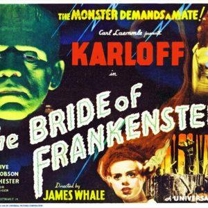 Boris Karloff - The Bride of Frankenstein.