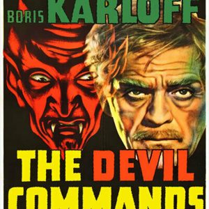 Boris Karloff - The Devil Commands