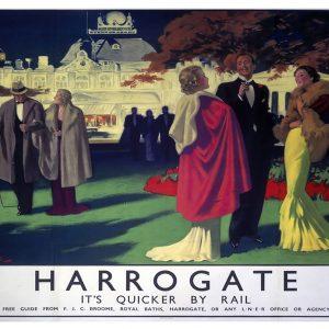 Harrogate, The British Spa Art Print