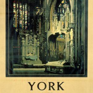York Minster on the LNER Art Print